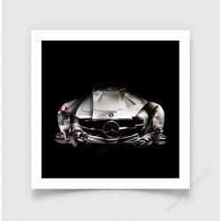 Fine Art Print Mercedes 300SL I Roadster