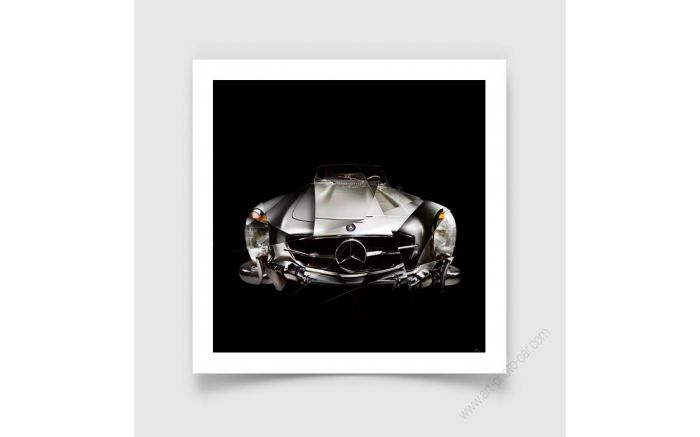 Mercedes 300 sl roadster - Signed & Limited Photography