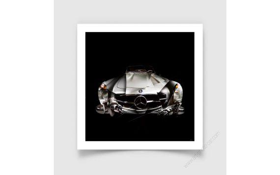 Tirage d'art Mercedes 300SL I