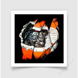 Fine Art Print Watches & Haute horlogerie Richard Mille RM 27-02 Rafael Nadal