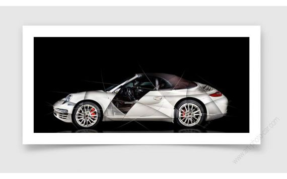 Porsche 997 911 Fine Art Print signed limited