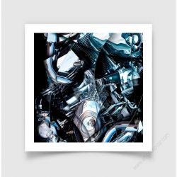 Fine Art Print Motorbreath