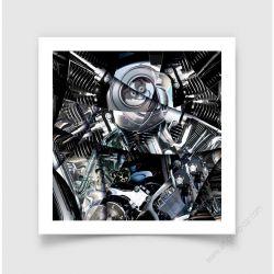 Fine Art Print Motorbreath V