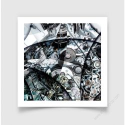 Fine Art Print of an engine