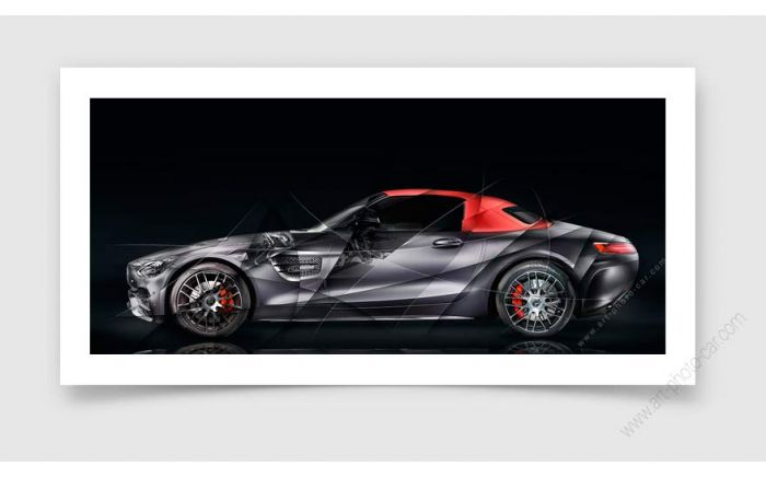 Tirage d'art Mercedes AMG GT Edition 50 II