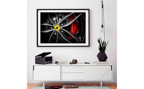 Ferrari 488 Spider art