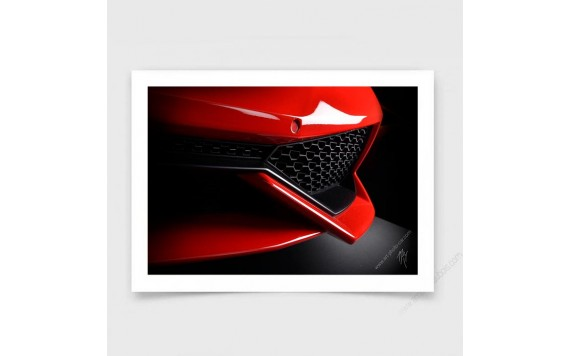 Lamborghini Huracan Rouge art