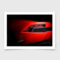 Lamborghini Huracan red photo I