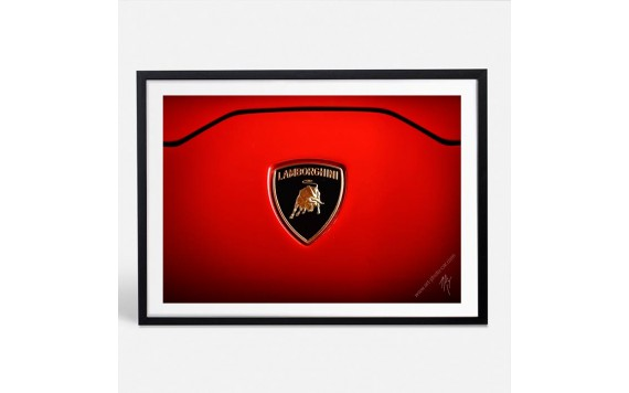 Lamborghini Huracan Rouge photographie