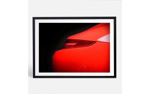 Porsche 911 Targa 4 GTS Photo - Photographie signée & limitée