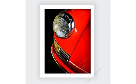 Porsche 911 Classic photo numérotée limitée