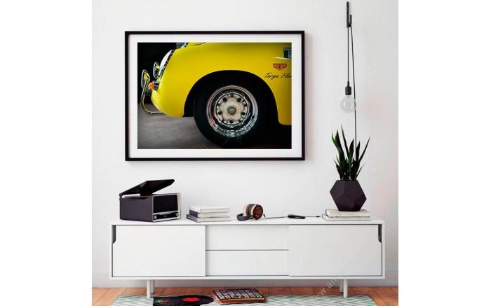 Porsche 356 BT6 art