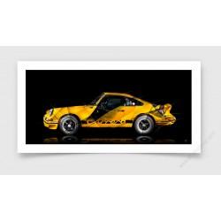 Fine Art Print Porsche 911 2.7 RS
