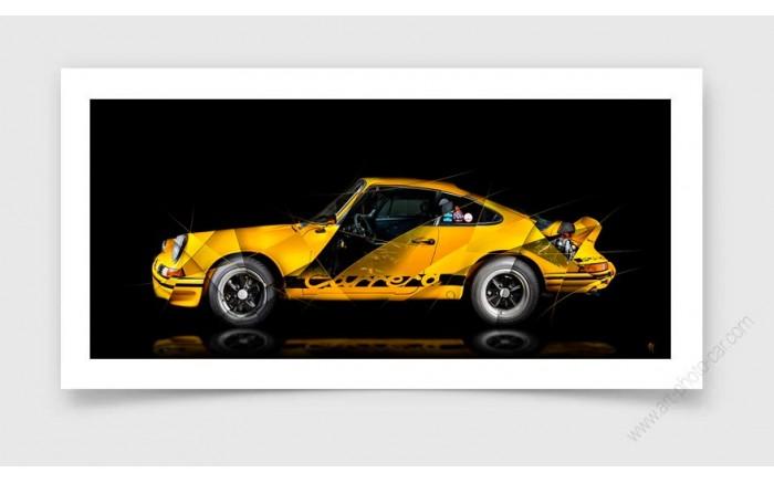Fine Art Print Porsche 911 GT2 RS type 991