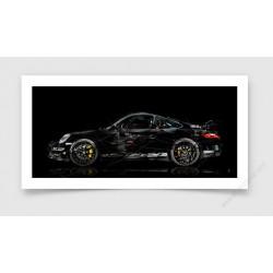 Fine Art Print Porsche 911 997 GT3