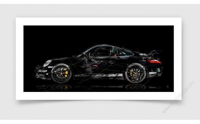 Tirage d'art Porsche 911 997 GT3