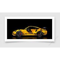 Fine Art Print Porsche 911 991 GT3