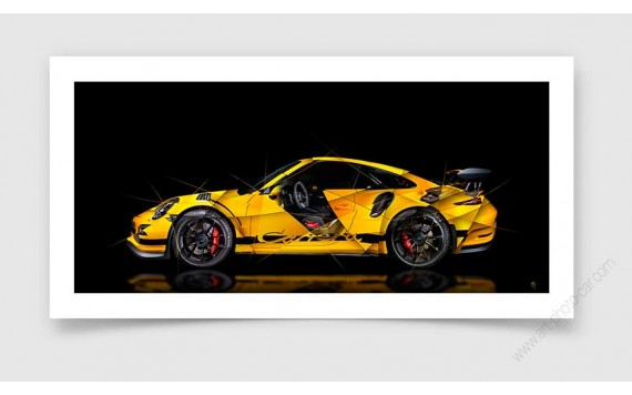 Fine Art Print Porsche 911 GT2 RS type 991