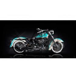 Harley Davidson Softail Heritage Fine Art Print