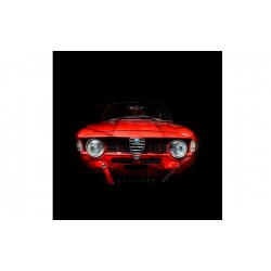 Art photography Alfa Romeo Giulia 1600 I