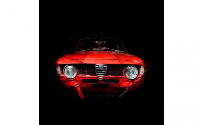 Photographie d'art Alfa Romeo Giulia 1600