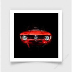 Tirage d'art Alfa Romeo Giulia 1600 I