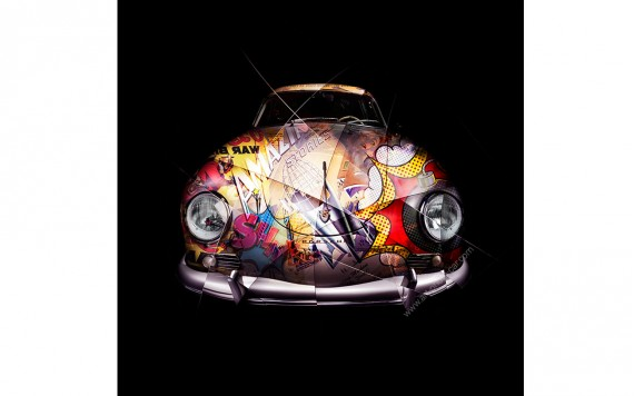 Photographie d'art Porsche 356 Pop Art