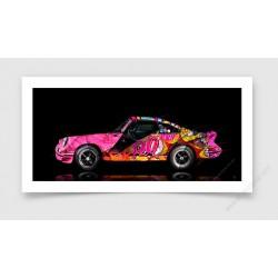 Fine Art Print Porsche 911 2.7 RS Pop Art