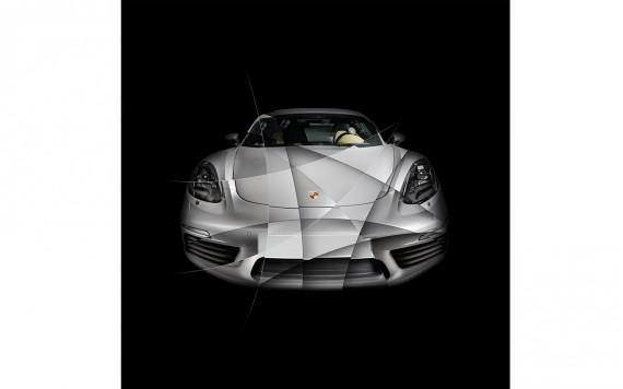 Photographie d'Art Porsche 718 Cayman S