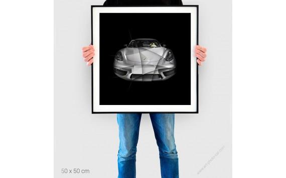 Fine Art Print Porsche 911 2,7 RS I limited edition