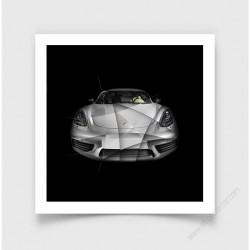 Tirage d'art Porsche 718 Cayman S
