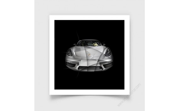 Fine Art Print Porsche 911 2,7 RS I limited edition