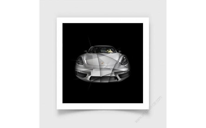 Tirage d'art Porsche 911 2,7 RS