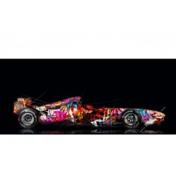 Art Photograpy Ferrari F248 F1 Pop Art