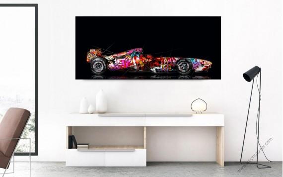 Photographie d'art Ferrari Portofino Pop Art