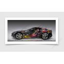 Fine Art Print Ferrari Portofino Pop Art