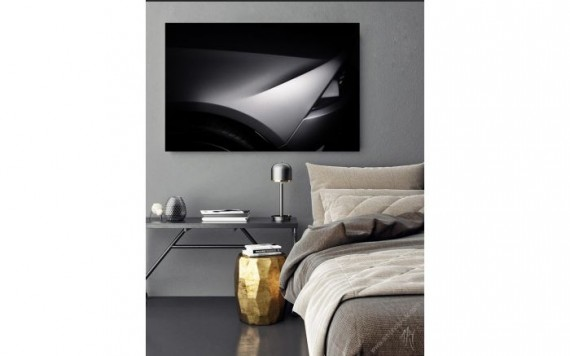 Lamborghini Huracan Grey art