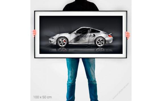 Fine Art Print Porsche 911 996 TURBO