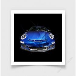 Fine Art Print Porsche 911 997 GT3 I