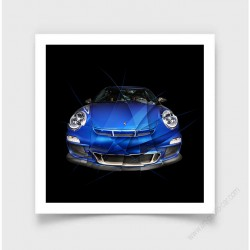 Tirage d'art PORSCHE911 997 GT3 I