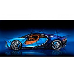 Tableau Photo Bugatti Chiron
