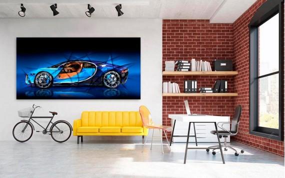 Tableau Photo Bugatti Chiron