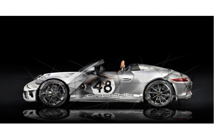 Tableau Porsche 991 Speedster