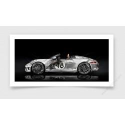 Fine Art Print Porsche 911 Speedster