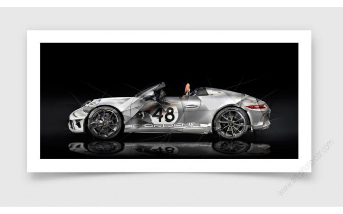 Tirage d'art PORSCHE 911 Speedster