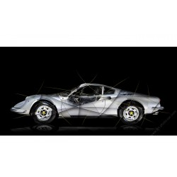 Art photography Ferrari Dino 246 GT