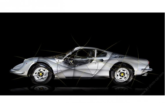 Ferrari Dino 246 GT Art photography