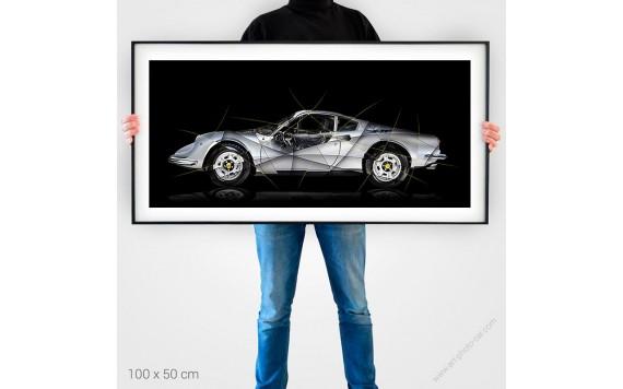 Ferrari Dino 246 GT Tirage d'art