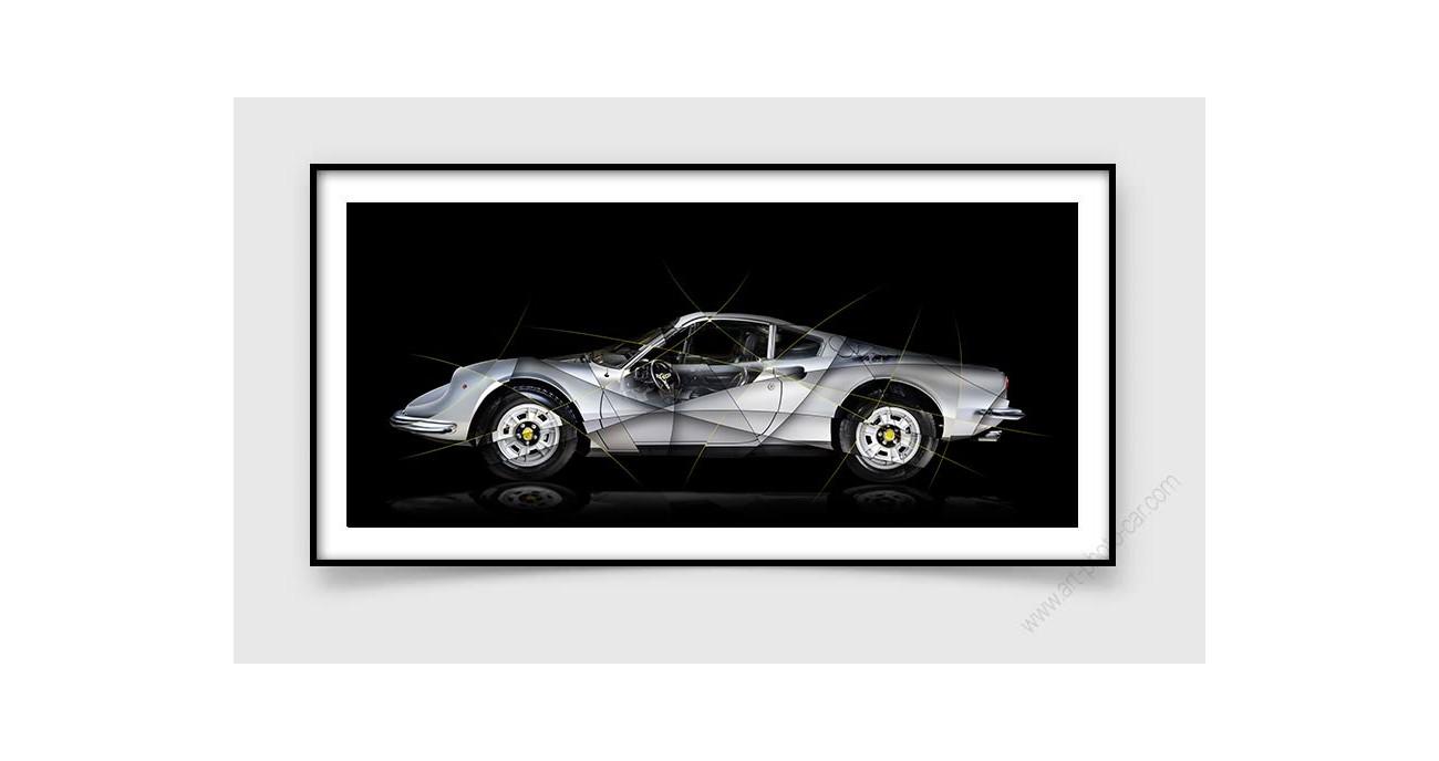 Ferrari Dino 246 Gt Limited Edition Fine Art Print Photo By Artist