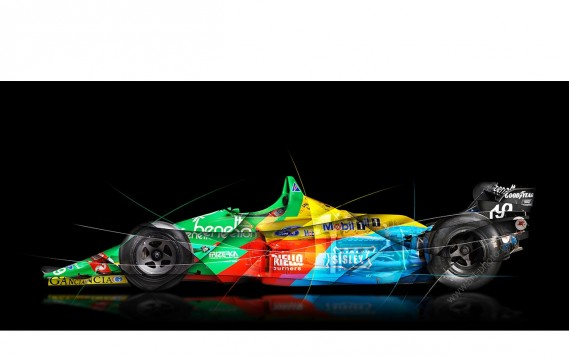 Photographie d'art Formule 1 BENETTON B188-01